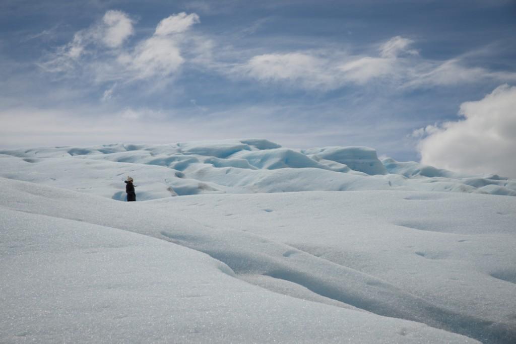 Wanderung auf dem Gletscher