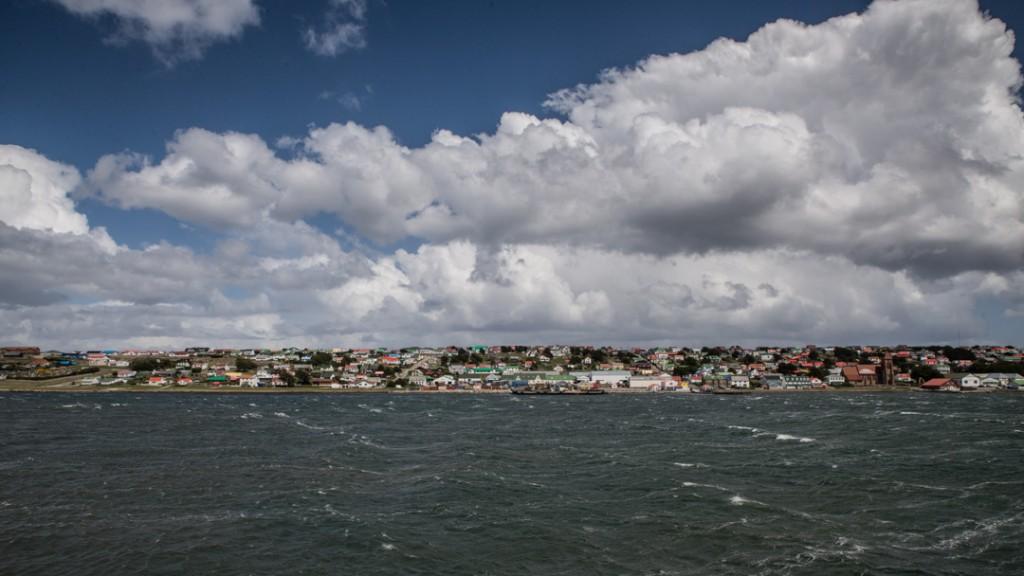 Stanley, die Hauptstadt der Falklandinseln