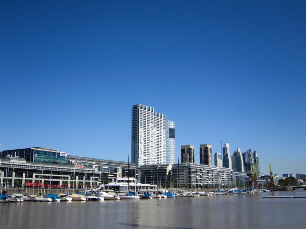 Der Hafen von Buenos Aires