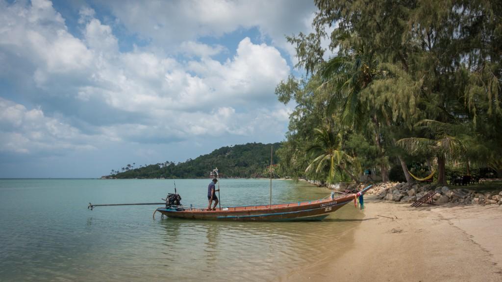 Strand von Ko Pha Ngan