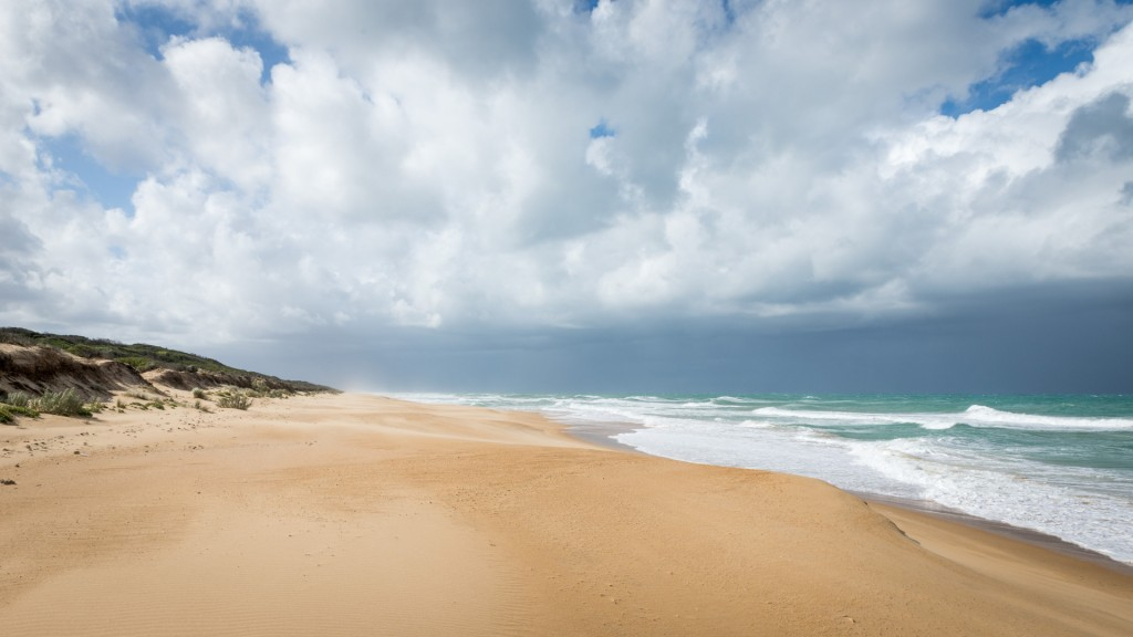 Der 90 Miles Beach