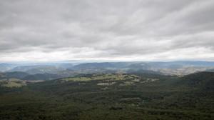 Aussicht in das Megalong Valley