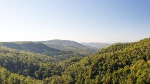 Ausblick über das Hinterland