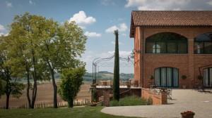 Ankunft im Tenuta Montemagno
