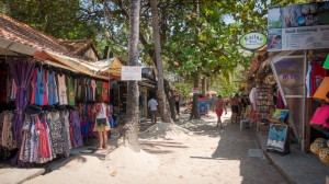 Walking Street in Railay
